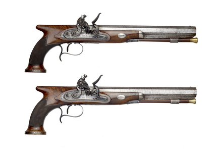 Wellington's duelling pistols: 19th century