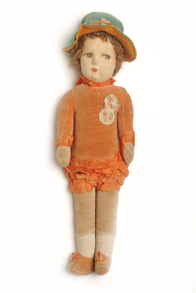 Madeleine cloth doll; 1923- 1928