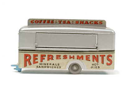 Toy mobile canteen; 1959 - 1966