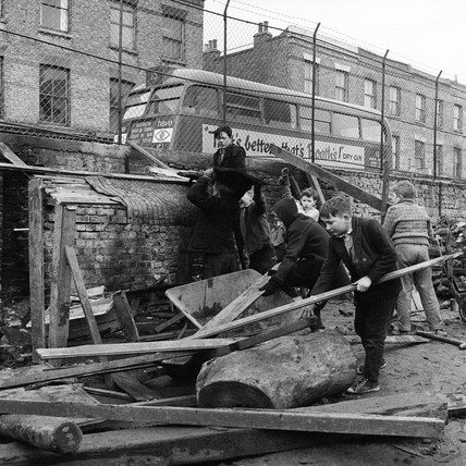 Adventure Playground at Notting Hill: 1960
