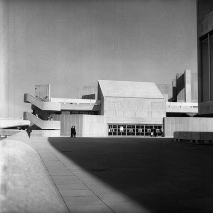 The Queen Elizabeth Hall: c.1970