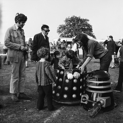 A boy in a dalek: 1972