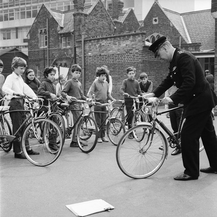 National Cycling Proficiency test: 1971