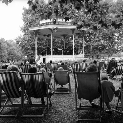The band stand in Hyde Park: c.1970
