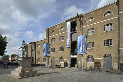 Museum of London Docklands exterior view; 2010