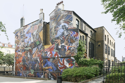 Cable Street Mural; 2009