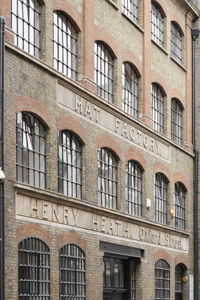 Henry Heath Hat Factory Building; 2009