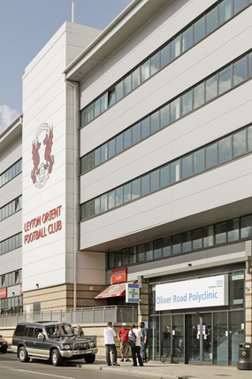 Leyton Orient Football Stadium; 2009