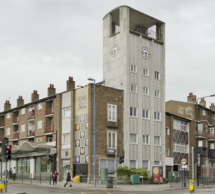 Walthamstow Council offices; 2009