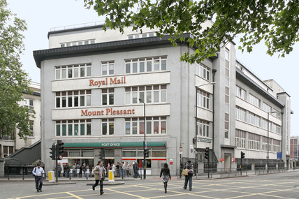 Royal Mail Mount Pleasant Sorting Office; 2009