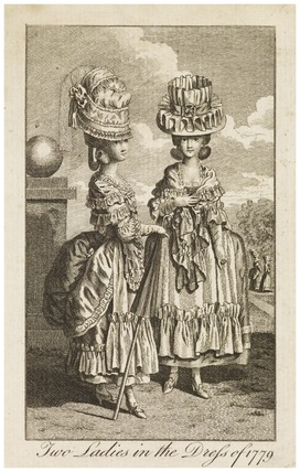 Two Ladies in the Dress of 1779