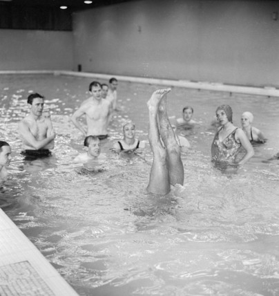 Swimming Lesson; c.1965