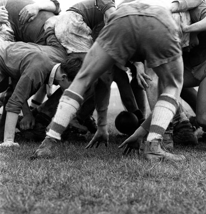 A game of Rugby: c. 1965