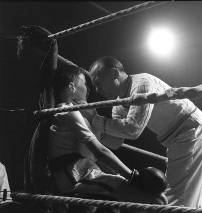 London School of Amateur boxing; 1958
