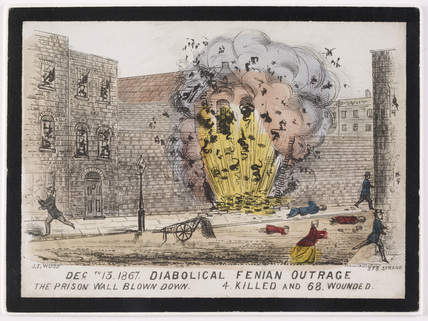 Fenian explosion at Clerkenwell Prison: 1867