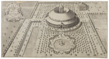 A view of the intended Rotunda at Ranelagh Gardens: 1742