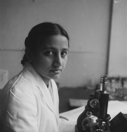 Pakistani student at the London School of Hygiene and Tropical Medicine