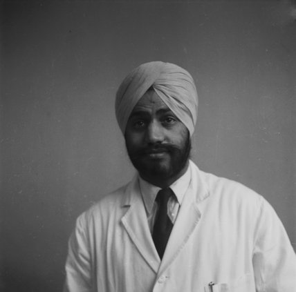 Punjabi student at the London School of Hygiene and Tropical Medicine