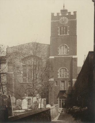 St. Bartholomew The Great: 1877