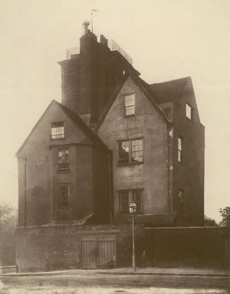 Canonbury Tower: 1879