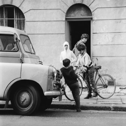 Four Boys on a street in Kings Cross; c1965