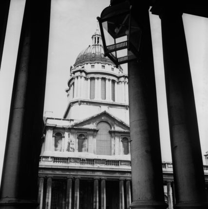 Exterior of the British Museum; 1967