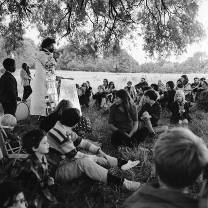 May Day Celebrations in Parliament Hill Fields: 1974