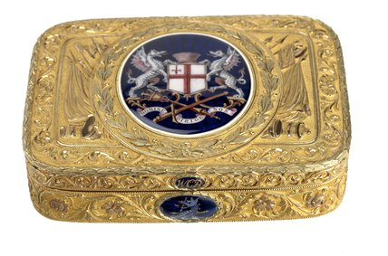 Freedom box presented to William Carr Beresford: 1811
