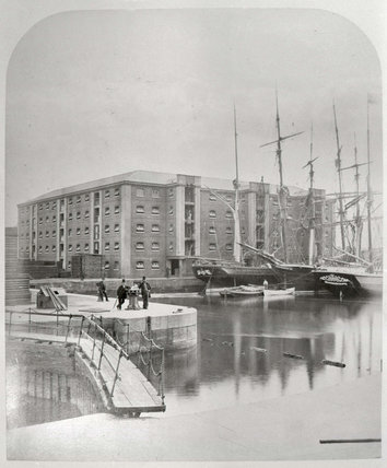Surrey Commercial Docks 1876