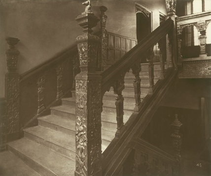 Charterhouse, Grand Staircase: 1880