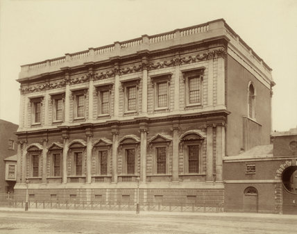 Banqueting House, Whitehall: 1882