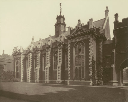 Lambeth Palace Great Hall: 1883