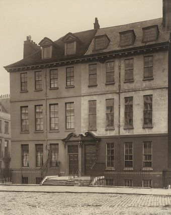 An old house, Queen Square, Bloomsbury: 1883