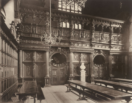 Middle Temple, The Hall: 1885