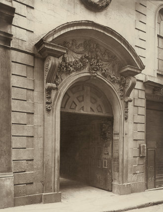 A doorway, College Hill: 1884
