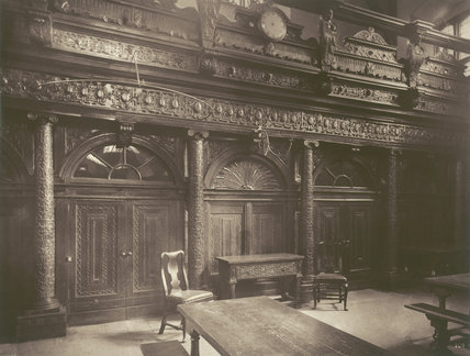 Gray's Inn, The hall: 1885