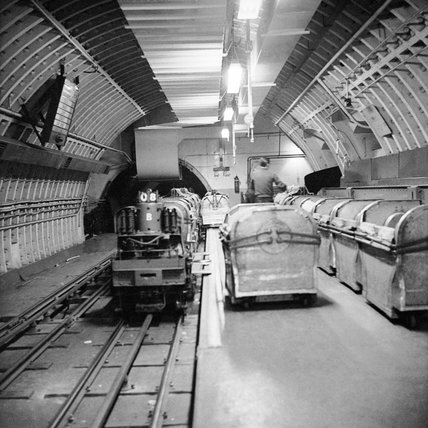 London Post Office Underground Railway; 1965