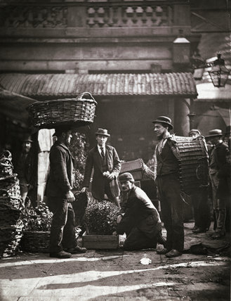Covent Garden Labourers; c.1877