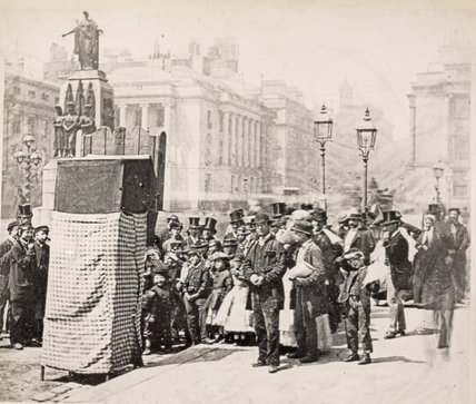 Punch and Judy Show, c.1865
