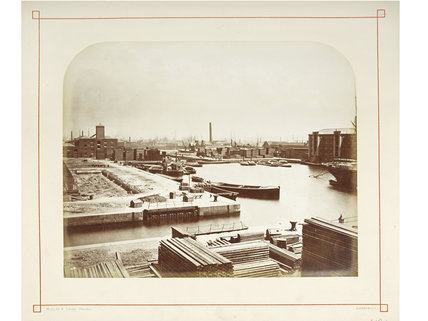 The Surrey Commercial Docks: c.1880
