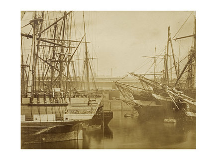 Eastern Basin, London Docks, c.1865