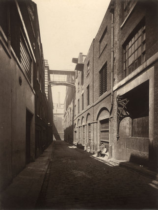 Combe & Co.'s Wood Yard Brewery in Castle Street, St. Giles; c.1875
