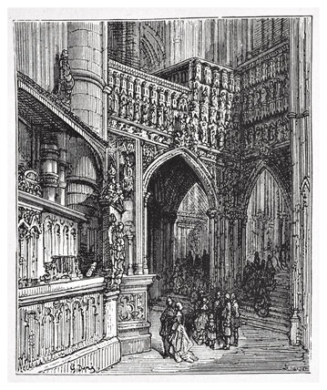 In the Abbey - Westminster: 1872
