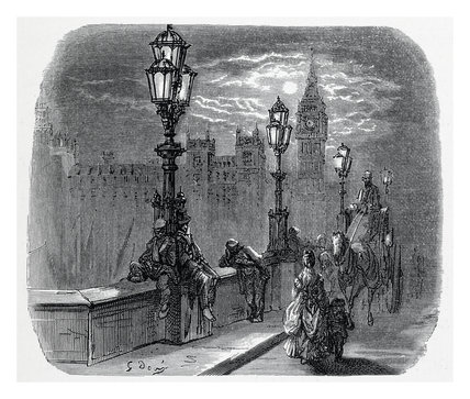 Victoria embankment: 1872