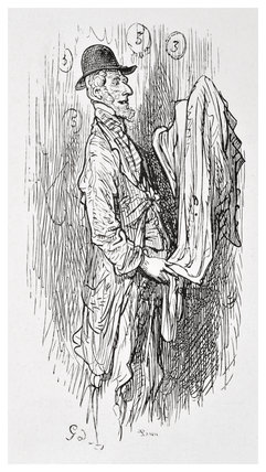 The old clothesman: 1872