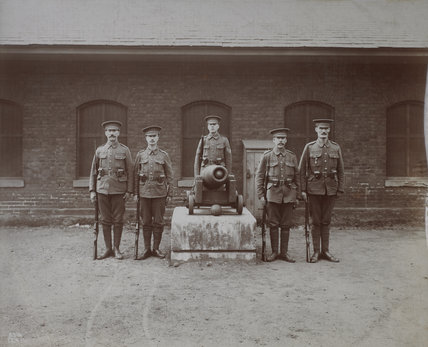 West India Dock Volunteer Army Unit: 1919