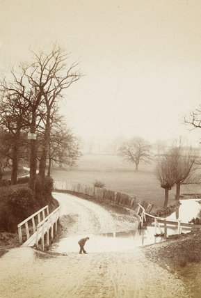 Blind Lane Brook, Osidge, c.1870.