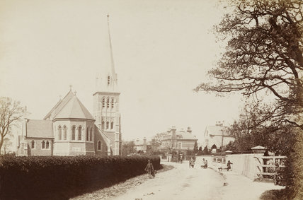 Oakleigh Park Church; C.1870