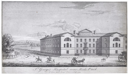 St. George's Hospital, near Hide Park
