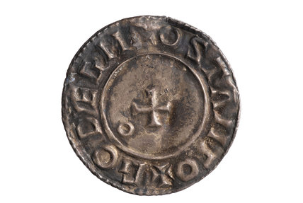 Silver Coin last small cross, of Aethelred II; c. 1009-1016